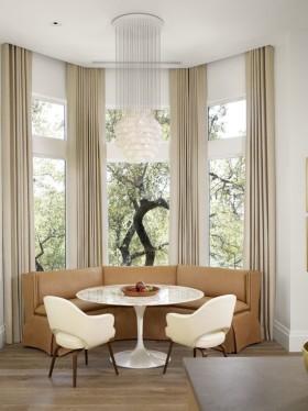 米色现代风格窗帘装修美图