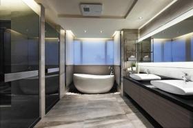 时空感时尚现代风格灰色卫生间美图赏析