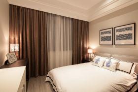 浪漫米色新古典风格卧室设计图