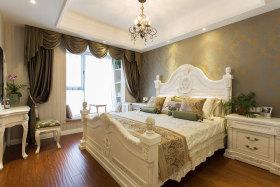美式浪漫白色卧室装饰案例