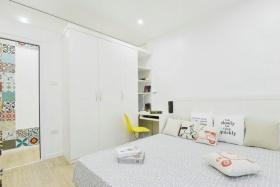简约白色时尚卧室效果图设计