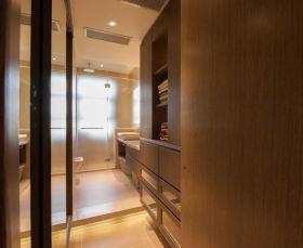 原木色宜家风格卫生间浴室柜装修布置