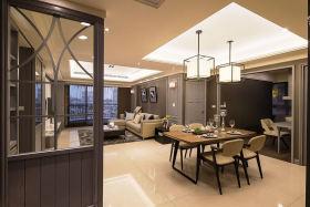 雅致现代风格灰色餐厅装潢设计欣赏