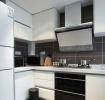 清爽简约现代风格白色厨房橱柜欣赏