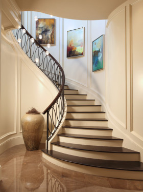 艺术大气混搭风格楼梯美图赏析