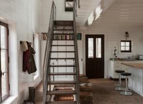 个性复古混搭楼梯设计效果图