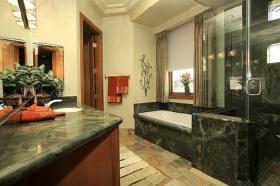 绿色美式风格卫生间设计装潢