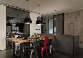 现代风格时尚灰色餐厅赏析