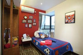 创意童趣现代风格儿童房装修案例