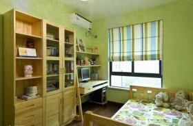 清新混搭风格儿童房装修设计欣赏