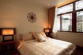 中式简约卧室装修图片