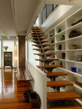 个性时尚雅致简约风格楼梯设计图
