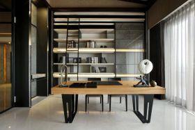 典雅现代风格书房效果图欣赏