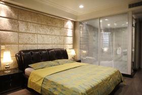 米色田园卧室设计图片