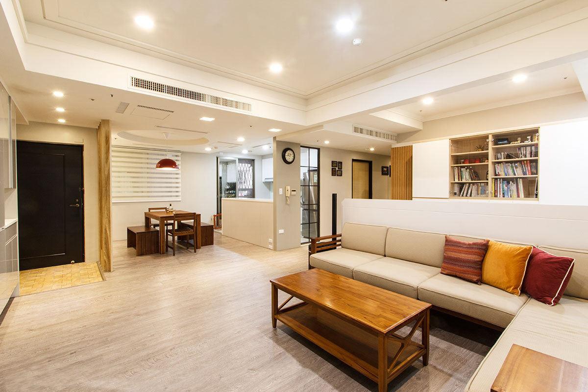 2016大气时尚简约风格米客厅装潢设计