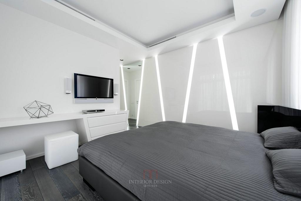 简约风格灰色卧室装修图片欣赏