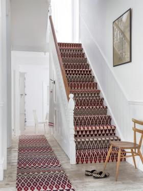 灰色雅致混搭风格楼梯设计欣赏
