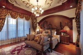 新古典雅致褐色卧室设计赏析