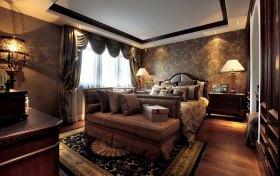 新古典褐色卧室美图赏析