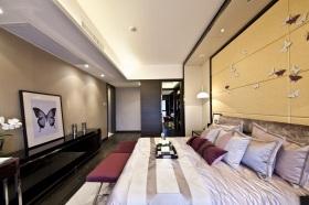 现代风格时尚灰色卧室装饰案例