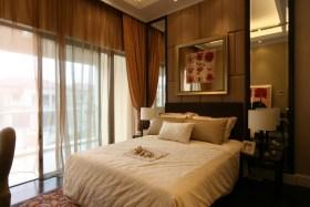 现代风格温馨黄色卧室设计赏析