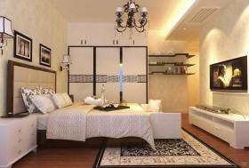 新古典风格白色卧室效果图设计