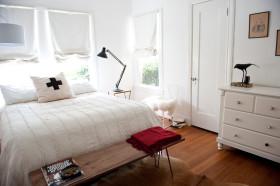 宜家风格白色卧室装饰案例