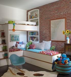 创意混搭多彩儿童房设计案例