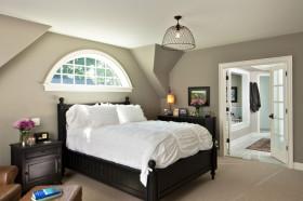 欧式时尚米色卧室装修布置
