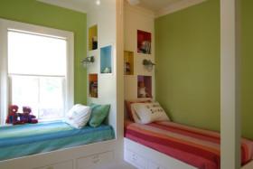 多彩创意混搭儿童房装修图片
