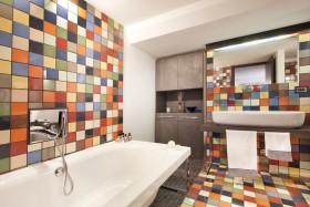 创意混搭风格卫生间设计欣赏