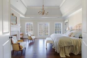 白色简欧风格卧室欣赏