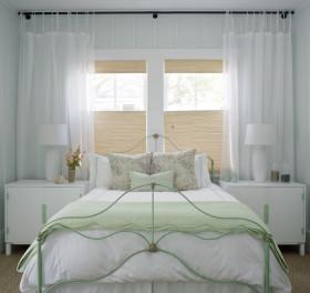 梦幻白色简欧风格卧室装修布置