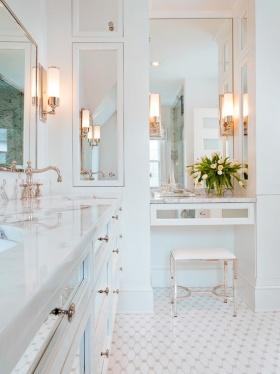 浪漫欧式风格卫生间效果图欣赏