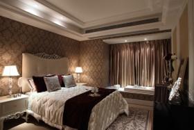 欧式风格米色卧室飘窗美图欣赏