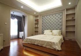 简欧风格米色卧室美图欣赏