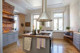 灰色简欧厨房装修美图
