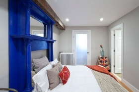 北欧时尚灰色卧室设计