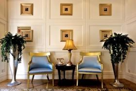 简欧式米色客厅设计美图