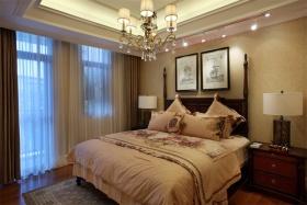 粉色欧式风格卧室装修案例