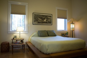 日式风格米色卧室榻榻米图片欣赏