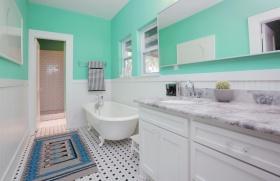 欧式风格白色卫生间装潢图