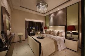欧式风格灰色卧室效果图欣赏