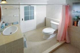 简约风格米色休闲卫生间图片赏析