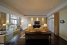 现代风格客厅背景墙效果图赏析
