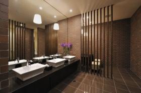 中式卫生间隔断设计图片