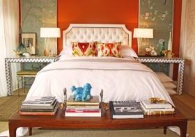多彩混搭风格卧室设计装潢