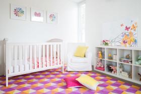 白色清新宜家风儿童房设计装潢