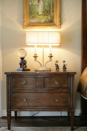 原木古典精致欧式风格收纳柜设计