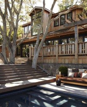 美式质朴休闲泳池设计图片欣赏